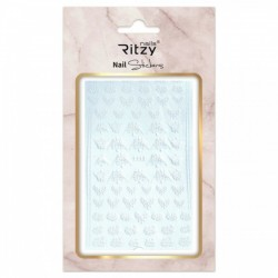 Ritzy TM/Nail art Stickers/F113 white