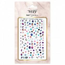 Ritzy TM/Nail art Stickers/F119