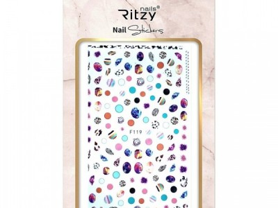 Ritzy TM/Nail art Stickers/F119