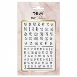 Ritzy TM/Nail art Stickers/F120