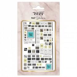 Ritzy TM/Nail art Stickers/F121