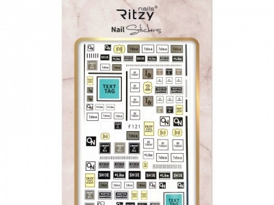 Ritzy TM/Nail art Stickers/F121