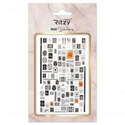 Ritzy TM/Nail art Stickers/F122
