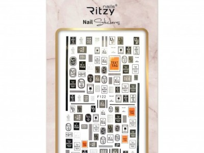 Ritzy TM/Nail art Stickers/F122