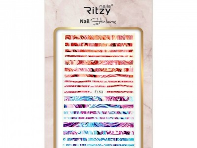 Ritzy TM/Nail art Stickers/F153