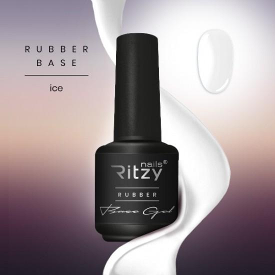 Ritzy Rubber Base gel 02 /Ice/15ml
