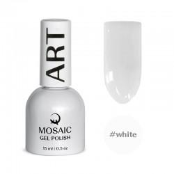 Mosaic White/gēla laka 15 ml