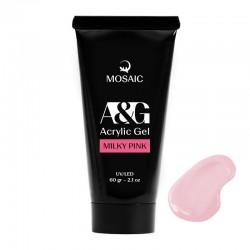 Mosaic Akrila gēls Milky pink 60 gr
