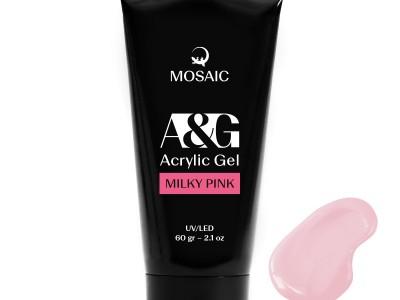 Mosaic NS/Akrila gēls Pienaini rozā/60 gr