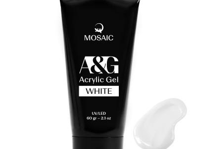 Mosaic NS/Akrila gēls Balts/60 gr