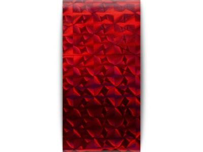 Transfer foil Diamond red