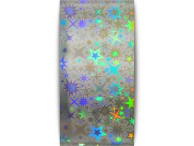 Transfer foil Silver starburst