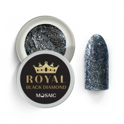 Mosaic Royal Black diamond/gēla krāsa 5 ml