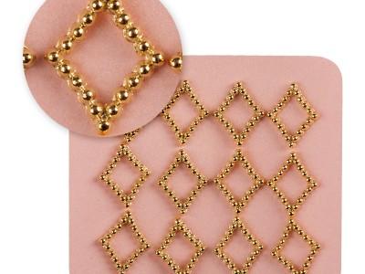 Mosaic/Jewellery gold 0734