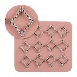 Mosaic/Jewellery silver 0734