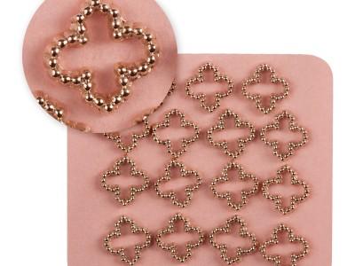 Mosaic/Jewellery pink gold 0832