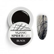 MOSAIC Spider gēls/Melns 5ml