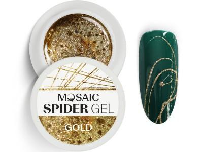 MOSAIC Spider gēls/Zelts 5ml