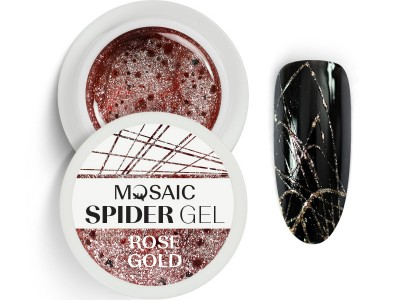 MOSAIC Spider gēls/Rožu zelts 5ml