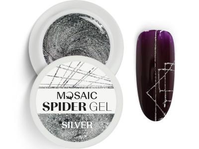 MOSAIC Spider gēls/Sudrabs 5ml