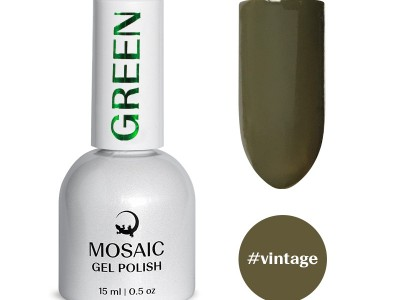 Mosaic gēla laka/Vintage 15 ml