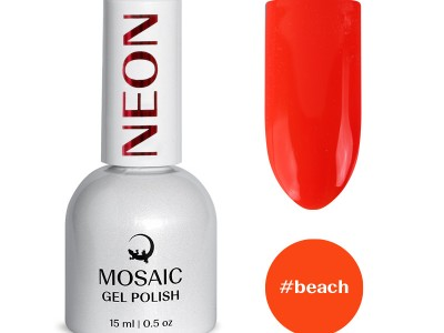 Mosaic gēla laka/Beach 15 ml