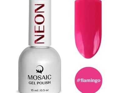 Mosaic gēla laka/Flamingo 15 ml