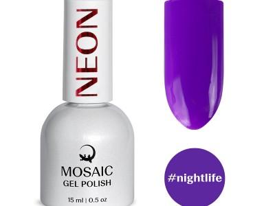 Mosaic gēla laka/Nightlife 15 ml