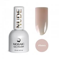 Mosaic Ivory/gēla laka 15 ml