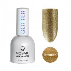 Mosaic Million/gēla laka 15 ml