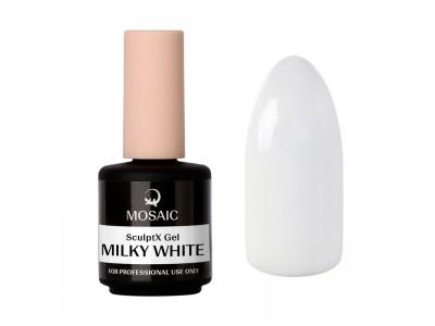 Mosaic NS/SculptX gel/Milky white builder gel/15ml