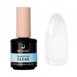 Mosaic SculptX būvējošais gēls Clear 15 ml