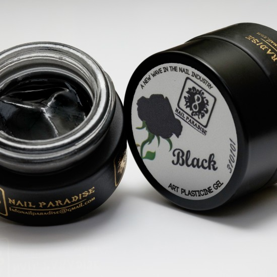 Plastecine Gel/Black