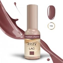 Ritzy Lac 110 Madam Charme/gēla laka 9ml