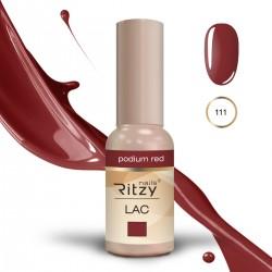 Ritzy Lac 111 Podium Red/gēla laka 9ml