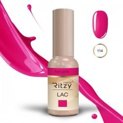 Ritzy Lac 114 Hot Pink/gēla laka 9ml