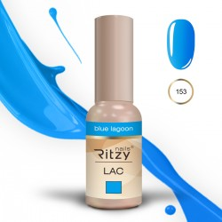 Ritzy Lac 153 Blue Lagoon/gēla laka 9ml