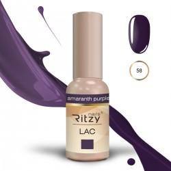 Ritzy Lac 58 Amaranth Purple/gēla laka 9ml