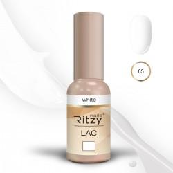 Ritzy Lac 65 White/gēla laka 9ml