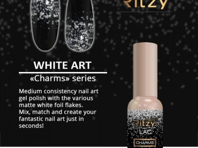 Ritzy lac/White Art
