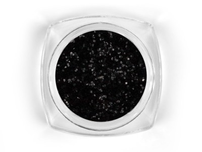 Mosaic Snow glitter Black