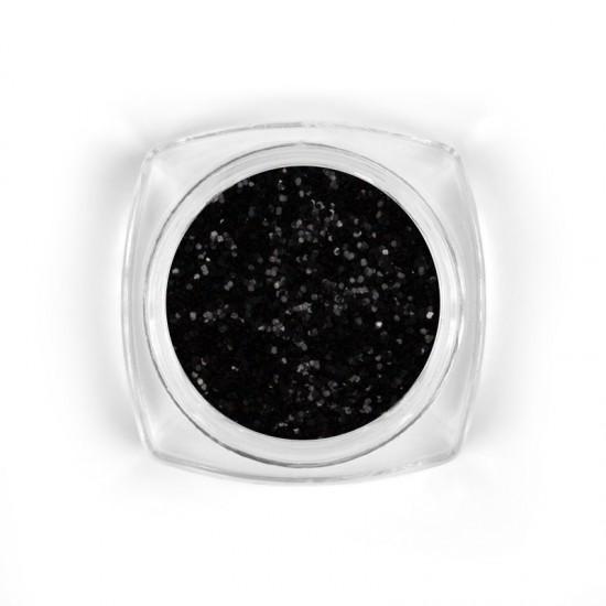 Snow glitter Black