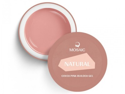 Mosaic/Natural cover pink builder gel 15ml