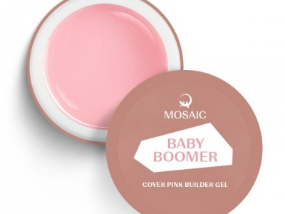 Mosaic/Baby Boomer pink builder gel 50ml