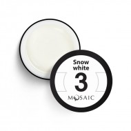 Mosaic gel paint 3.Snow white/15ml
