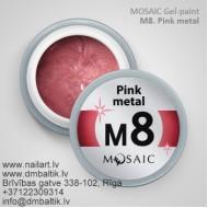 M8. Pink metal 5ml