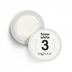 Mosaic gel paint 3.Snow white/5ml