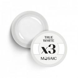 Mosaic gel paint 3X.True white/5ml