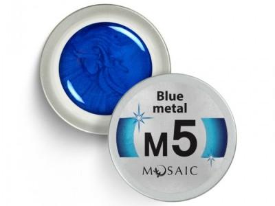 M5. Blue metal 5ml