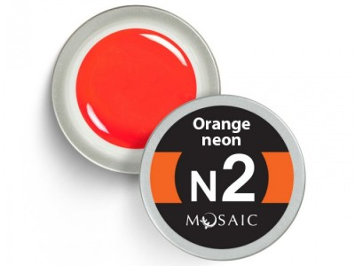 N2.Orange neon/vitrāža 5ml